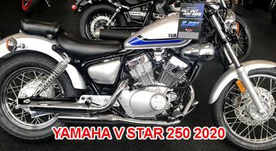 Yamaha V Star 250 2020 nhập khẩu chính hãng giá rẻ