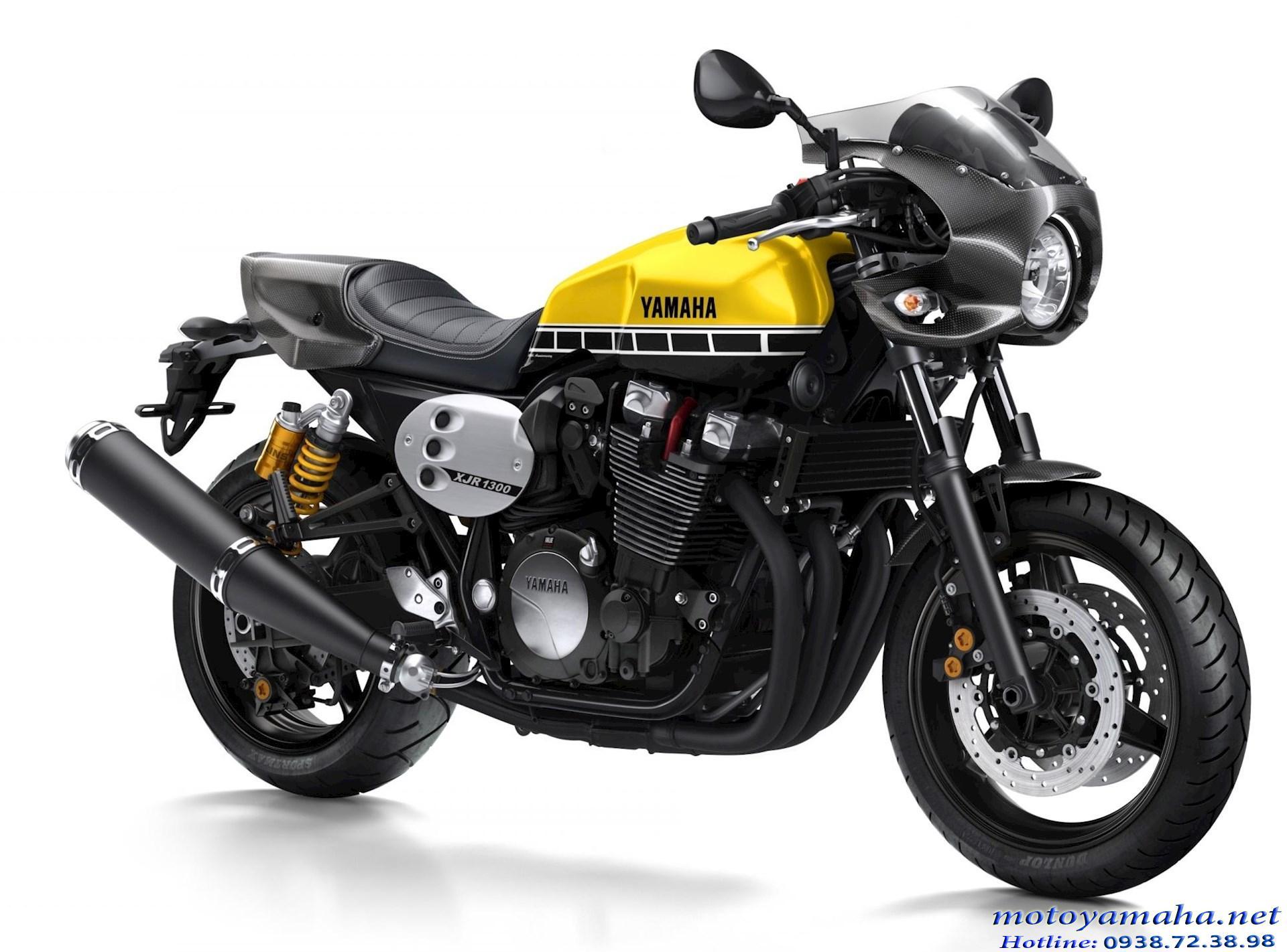 Yamaha XJR1300 racer hàng châu Âu