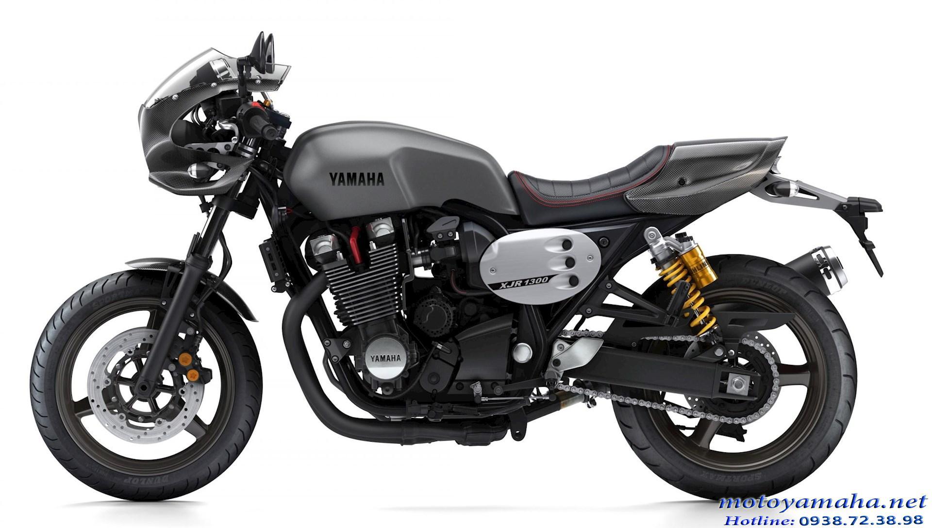 Yamaha XJR1300 racer màu xám